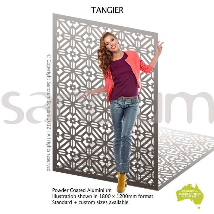 Tangier screen design