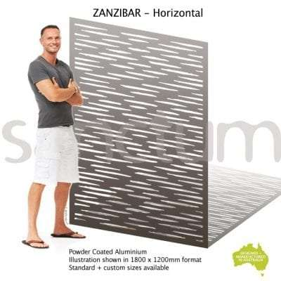 Zanzibar Horizontal screen design