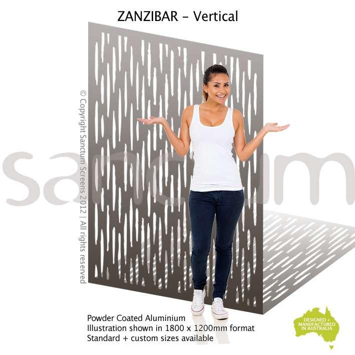 Zanzibar Vertical screen design