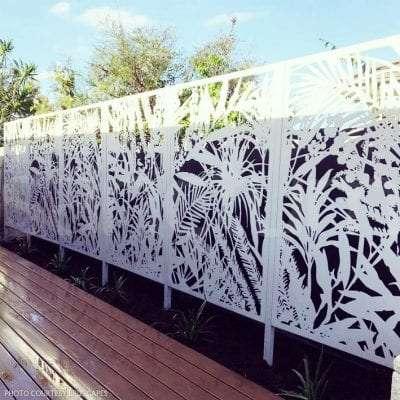 Jabiru seamless garden decorative aluminium screens