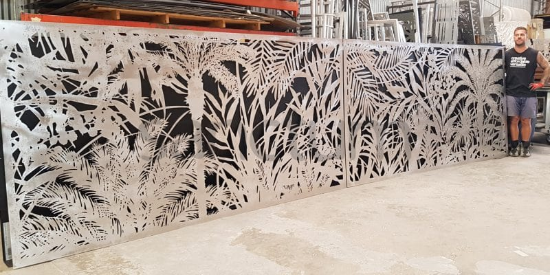 Jabiru Holey Sheet panels for sliding gate