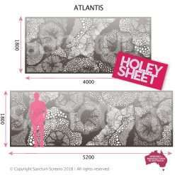 Atlantis holey sheet oversized screens