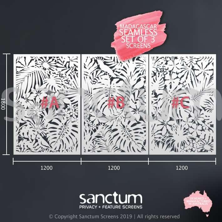 Madagascar 1800 x 1200 set of 3 screens